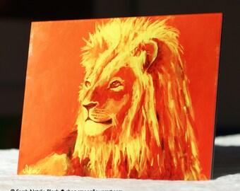 Photo d'écran * animal alimentation Lion *, accessoires de décoration & maison