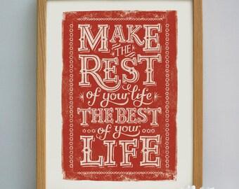 Fresh Start Print | Fresh Start Gift | Moving Away Gift | New Home Gift