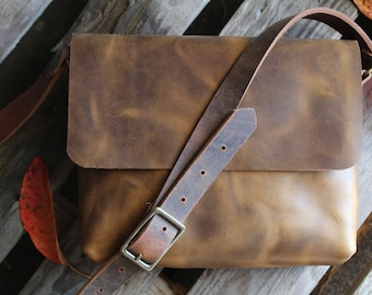leather purse, leather bag, leather messenger bag, crossbody leather bag, purse, leather satchel, small leather bag, small satchel, purses