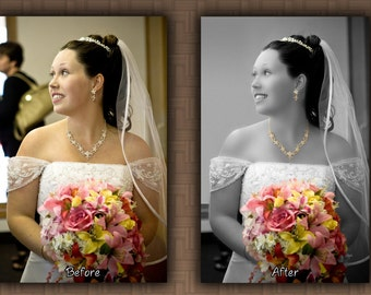 Custom Photo Editing and Retouching