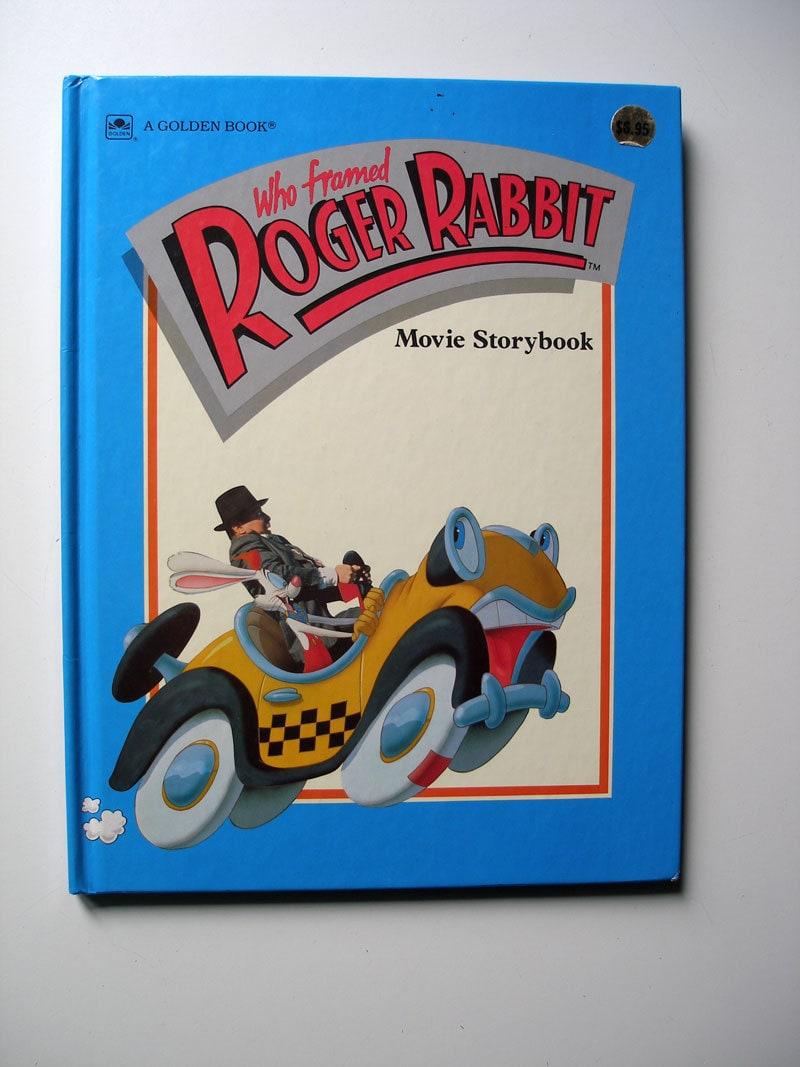Who Framed Roger Rabbit Movie Storybook 1988