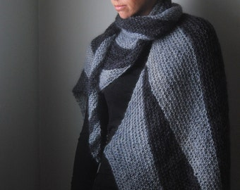 ENSHROUD Shawl Knitting Pattern PDF