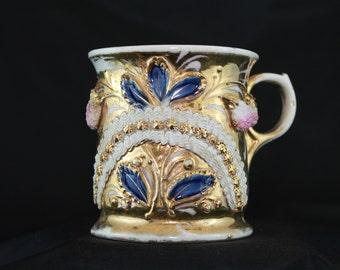 Beautiful Vintage Victorian? Shaving Mug