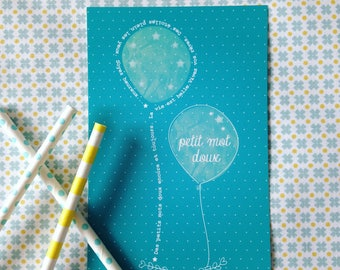 Card with sweet notes - it's always fun