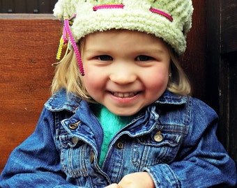 Grow With Me Adjustable Fit Child's Hat Knitting Pattern