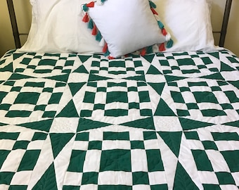 Emarald Stepping Stone Mystery Quilt