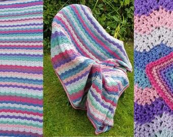 Vintage Yarn Pack Blanket Kit, Stylecraft Special DK,