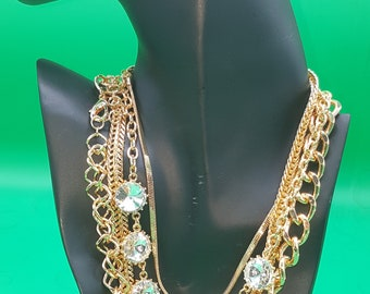 4-In-1 Gold Plated Chain Set