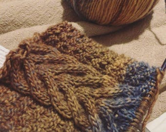 The Cabled Cowl