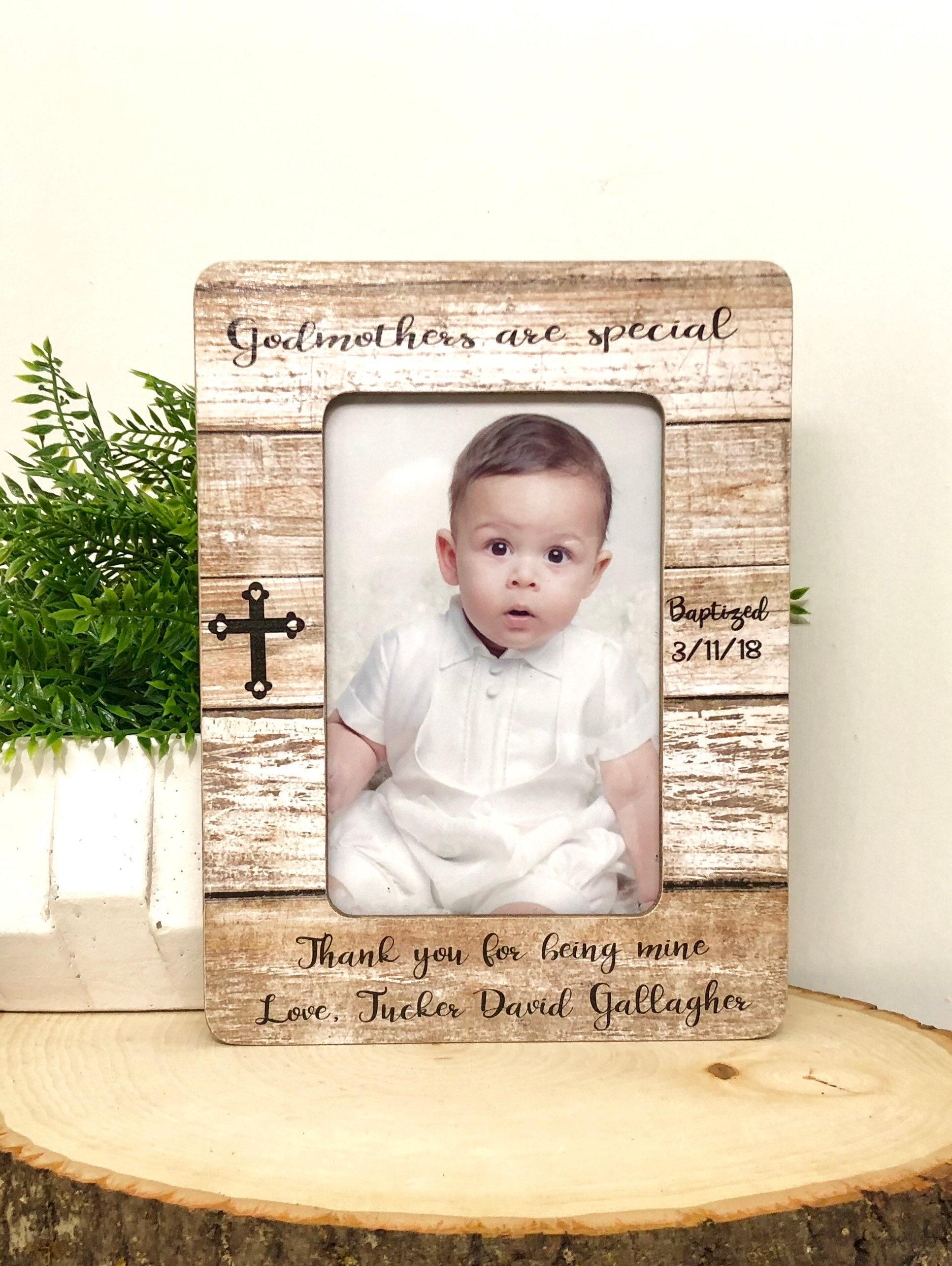 Baptism Frame• Gift For Godmother• Godmother Frame• Godmothers Are ...