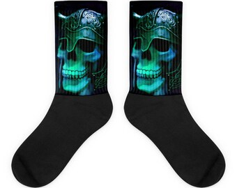 Skull Warrior Socks