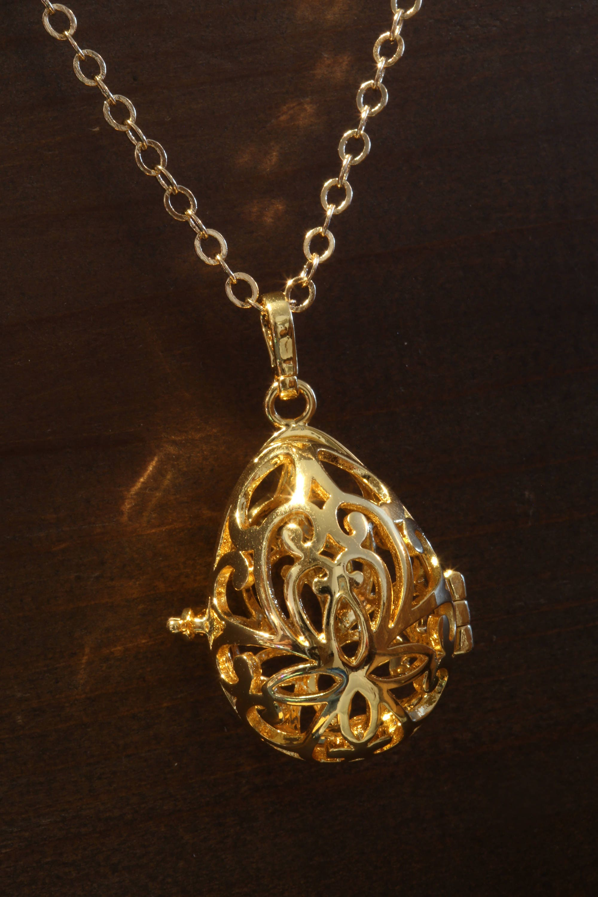 the ip glow luminous jewelry necklace dark locket steampunk in pretty fairy com pendant walmart