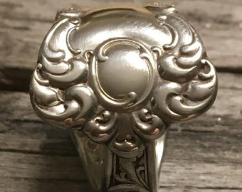 Rogers & Son Spoon ring late 1890 to early 1900 size 7