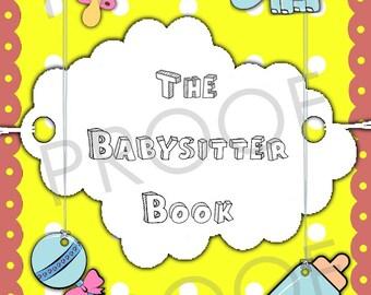 The Babysitter Book (Girl)