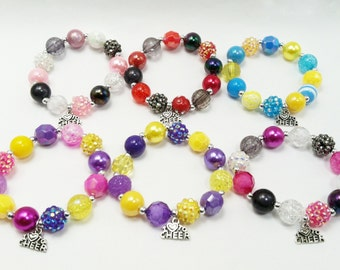 Custom Cheer bracelet - Choose your colors!