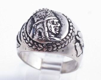 Tigran The Great V2Sterling Silver Ring