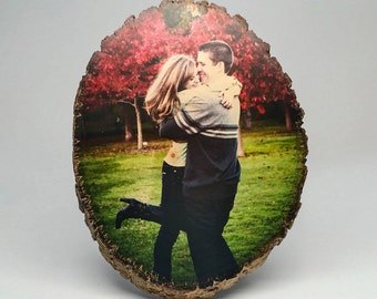 Custom Basswood Photo, Wood Photo Transfer With Your Picture, Family Photo Gift Idea