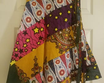 Ghana-made Womens Wrap Skirt