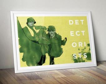 Detectorists A4 Print