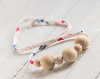 Baby Wood Necklace - Breastfeeding Necklace - Organic Nursing Necklace - Mommy Necklace - Necklace for Mom - Teething Necklace -Baby Gift