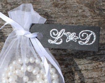 Personalised Wedding Flower Stamp