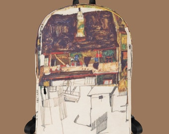 Egon Schiele Backpacks 4 Designs.
