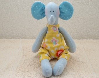 Handmade  stuffed toy , a child's best friend, soft , baby shower gift.