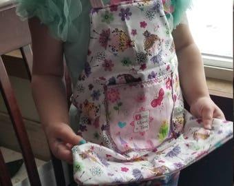 Toddler  reversible apron