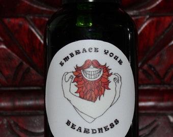 Beard Oil - Manly Scent - 30ml (1oz) bottle