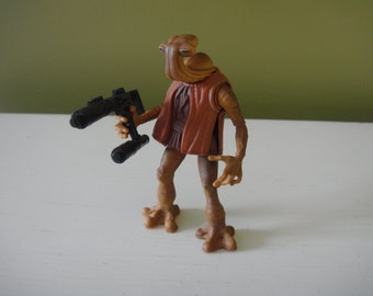 Vintage Star Wars  - Hammerhead (Momaw Nadon) - Power of the Force - Star Wars Action Figure - 1996