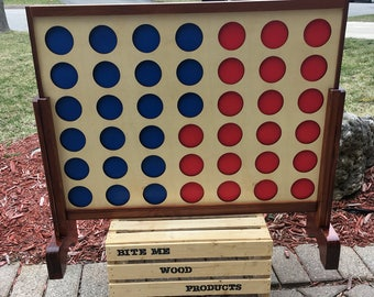 Jumbo Giant Connect 4 ( four ) game, Four in a row, 4 in a row 3' x 2'