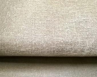 TARLATAN 100% cotton Brown width 130cm