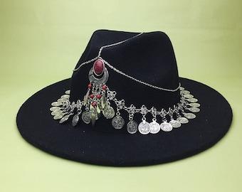 Bohemian Hat | ⤚BOHEMIAN QUEEN⤛