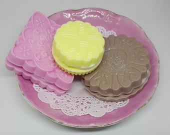 Cookie savons - savons Kindred Spirit - thé biscuit savons - Anne of Green Gables cadeau - Kindred Spirits cadeau - Anne Shirley - Bureau