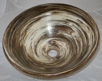 Multi Color Clay Vessel Sink