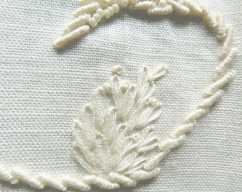 Spring- Embroidered Guest Towel