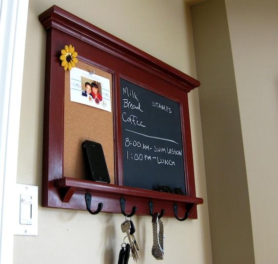 Wall Shelf Bulletin Board Cork Board Kitchen Chalkboard