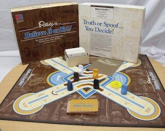 Ripley's Believe it or Not Board Game