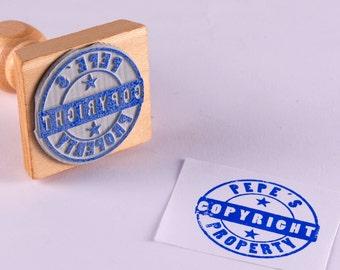 Custom wood seal