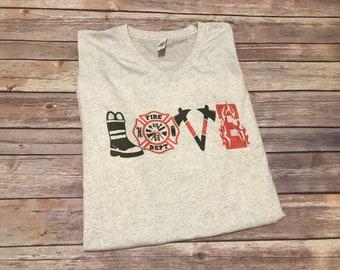 Fire Love t-shirt