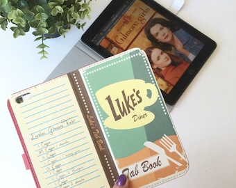 Book phone /iPhone flip Wallet case- Gilmore Girls-   iPhone X, 8, 7, 6, 6 7 & 8 plus, 5, 5s, 5c, Samsung Galaxy S9 S8 S7 S6 Note 5 7 8, LG