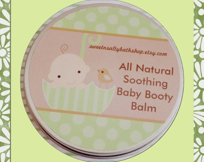 All Natural Baby Booty Balm 4 oz.