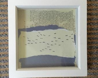 Box Frame - Swimming fish