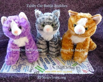 Tabby Cat Battle Buddy