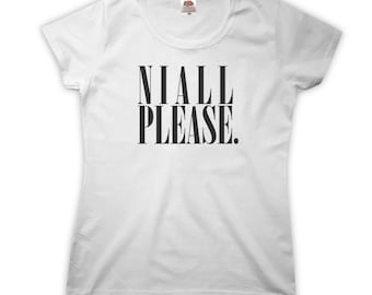 Niall Please T-Shirt - Womens XS S M L XL