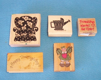 RUBBER STAMPS  ------- LOT