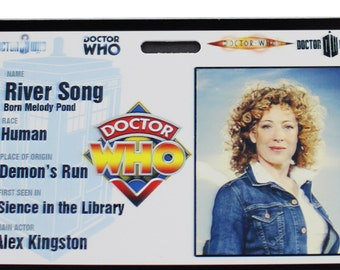 Doctor Who River Song Prop ID Badge