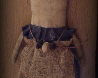 Primitive doll Nutmeg e-pattern