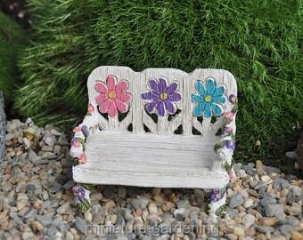 Fairy Garden Bench for Miniature Garden