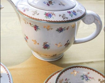 Beautiful Raynaud Limoges 1950's tea/coffee service